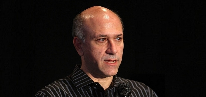 speaks at the 2008 AFI Fest Future Of Distribution panel held at Roosevelt Hotel on November 1, 2008 in Hollywood, California.